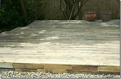 Deck de pallet reciclado, como fazer