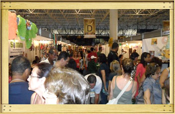 Stands do evento Expoart Bahia
